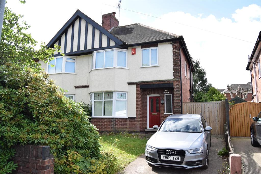 3 Bedrooms Semi Detached House for sale in Eakring Road, Mansfield