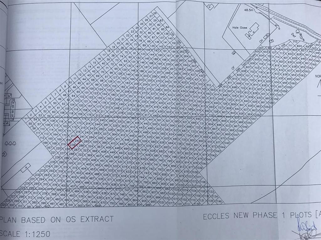 Land Commercial for sale in Plot at Pilgrims Vale, Eccles