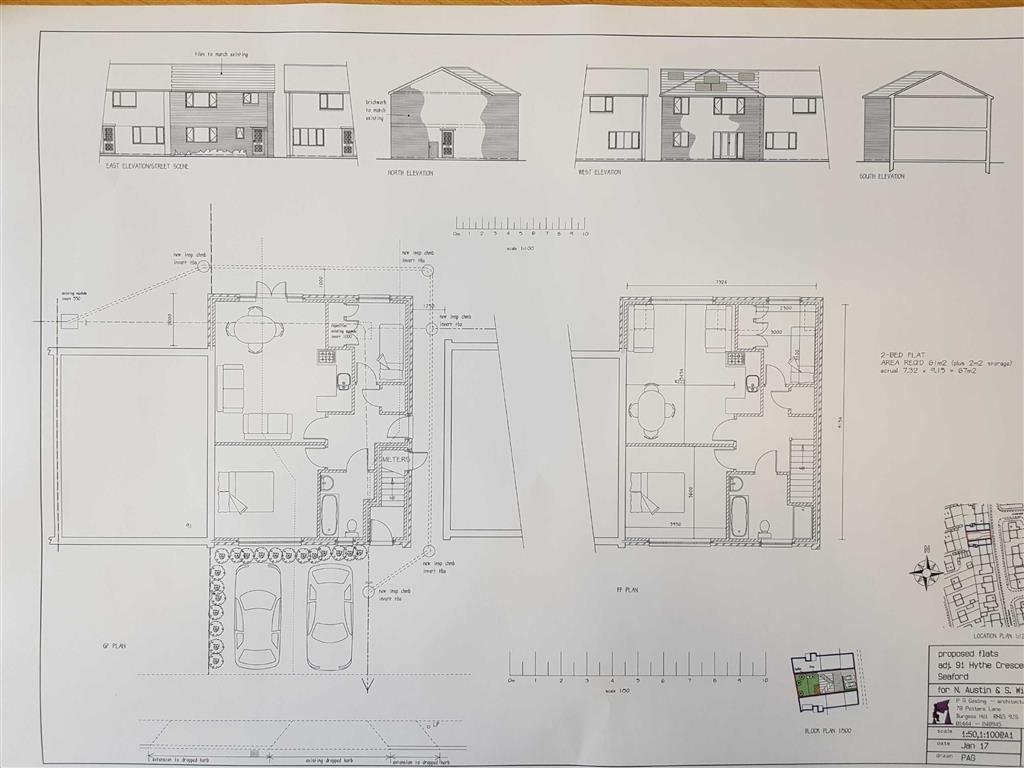 Land Commercial for sale in Hythe Crescent, Seaford