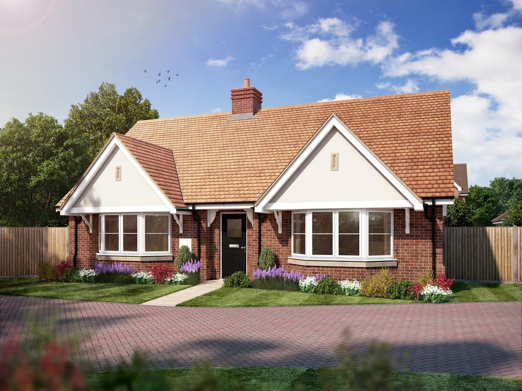 2 Bedrooms Detached Bungalow for sale in Amlets Place, Amlets Lane, Cranleigh, GU6