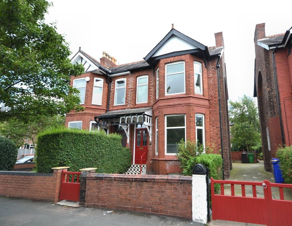 5 Bedrooms Semi Detached House for sale in Corkland Road, Chorlton