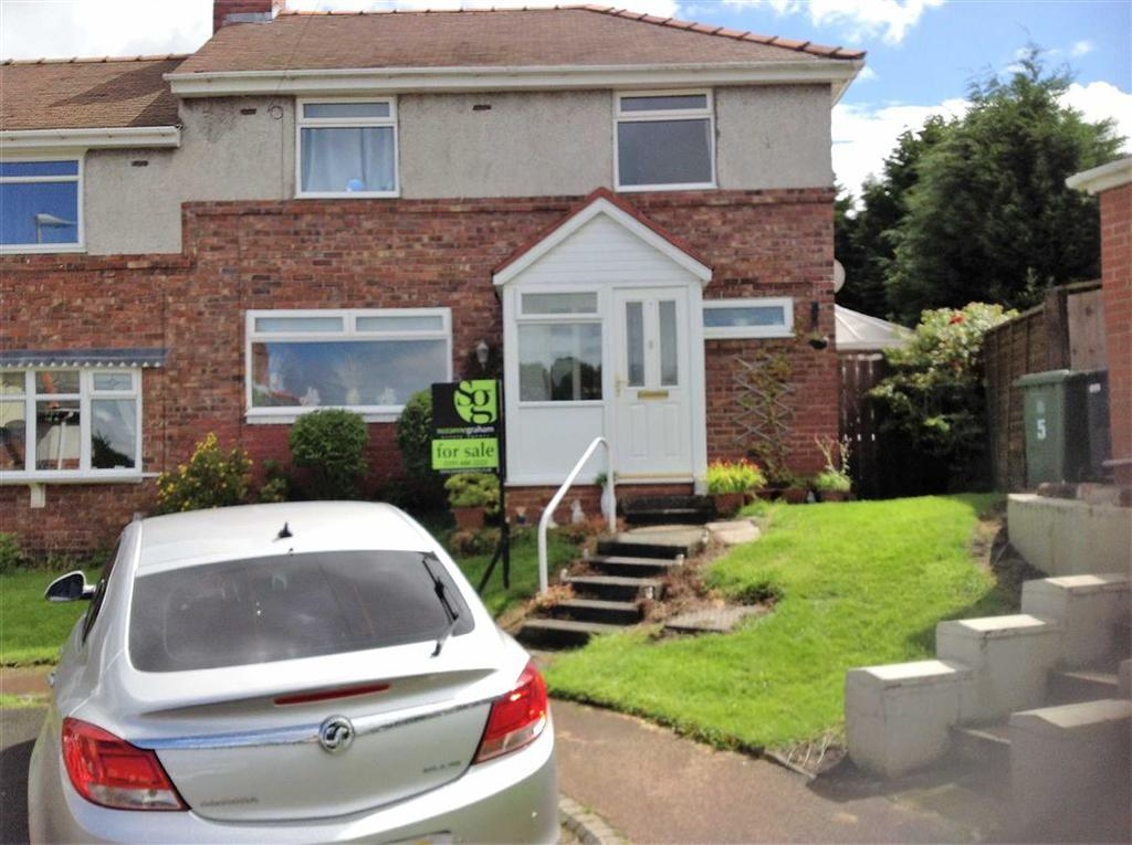 4 Bedrooms Semi Detached House for sale in Stubbs Avenue, Whickham, Newcastle Upon Tyne