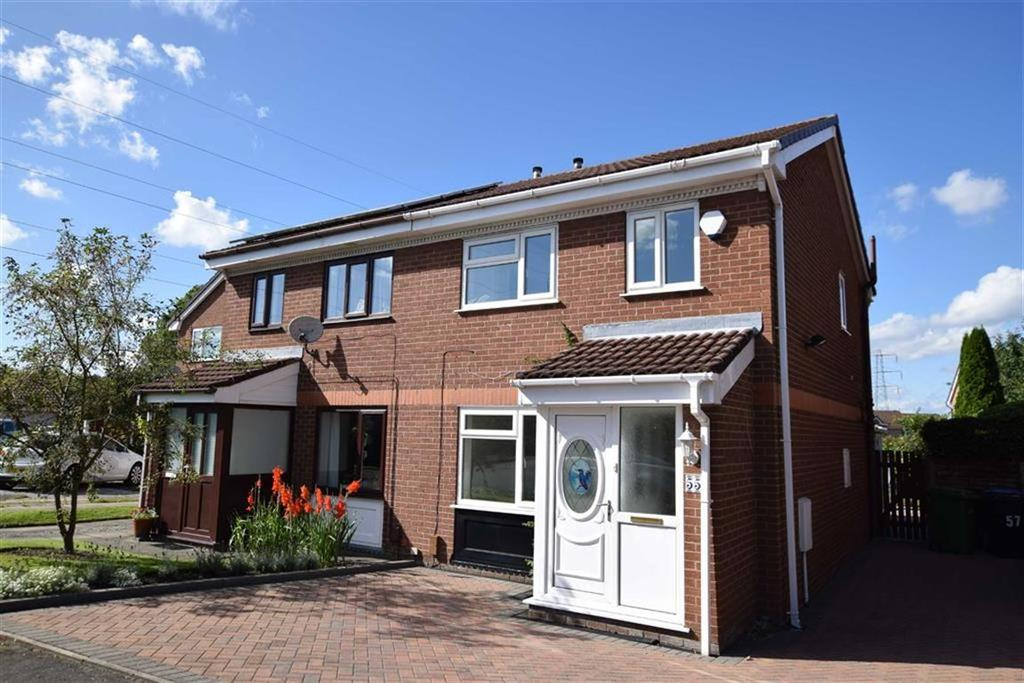 2 Bedrooms Semi Detached House for sale in Pochard Drive, Altrincham, Cheshire, WA14