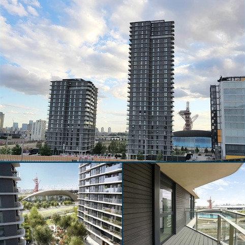 1 bedroom flat to rent - Cassia Point, 2 Glasshouse Gardens, Stratford, London. E20 1HW