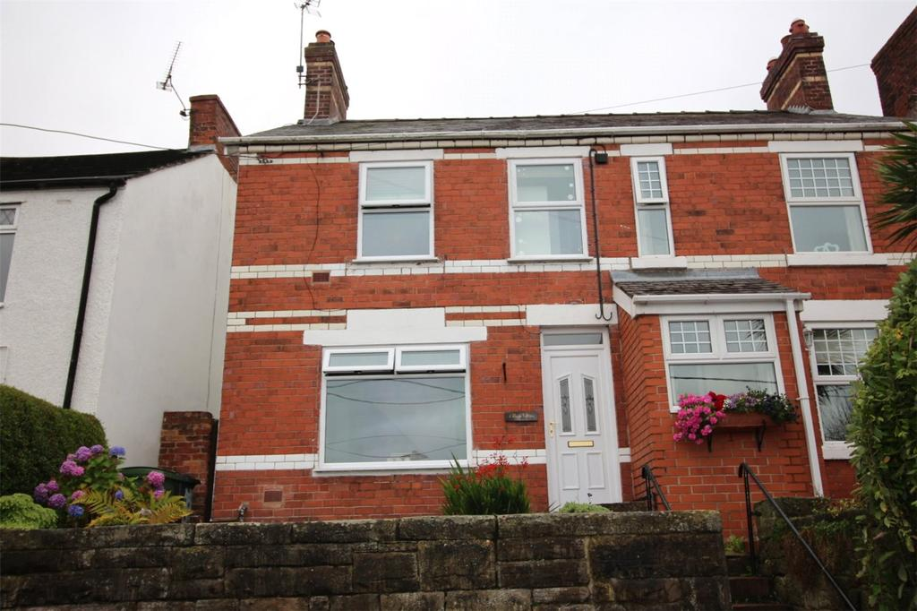 3 Bedrooms Semi Detached House for sale in Little Mountain, Top Road, Summer Hill, Wrexham, LL11