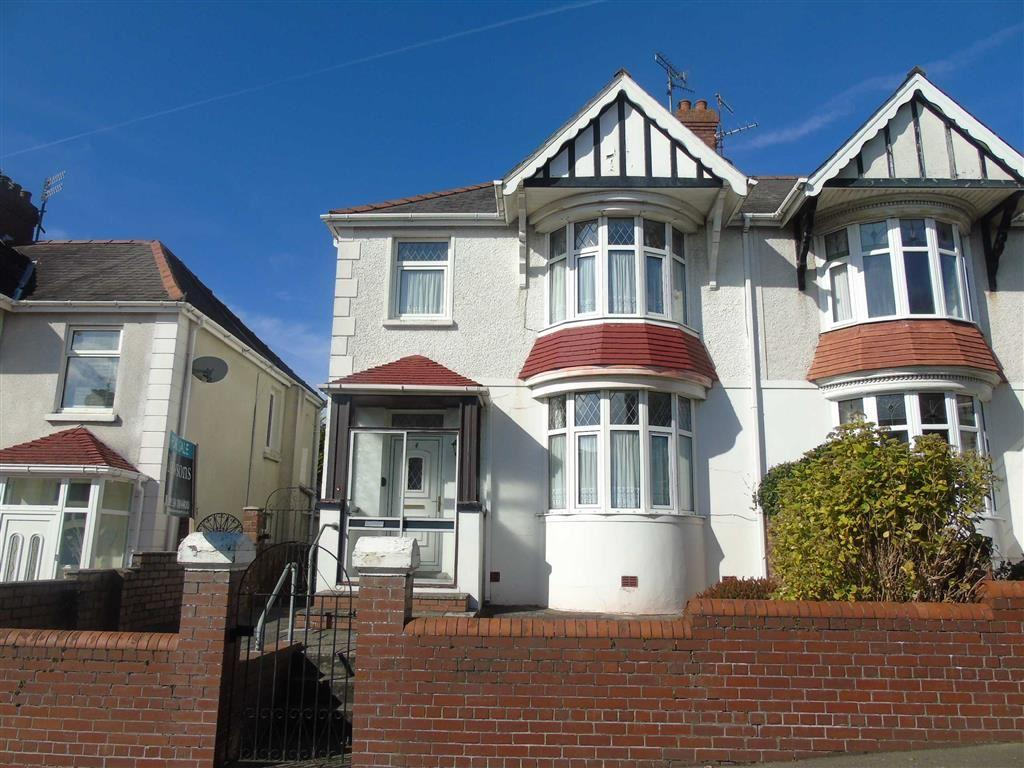 3 Bedrooms Semi Detached House for sale in Belvedere Road, Llanelli