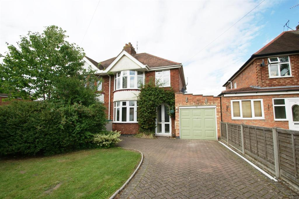 3 Bedrooms Semi Detached House for sale in Heathcote Road, Whitnash, Leamington Spa
