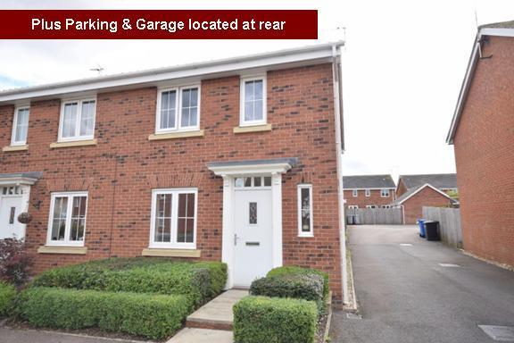3 Bedrooms Semi Detached House for sale in The Grange - Thistle Drive, Desborough, Kettering