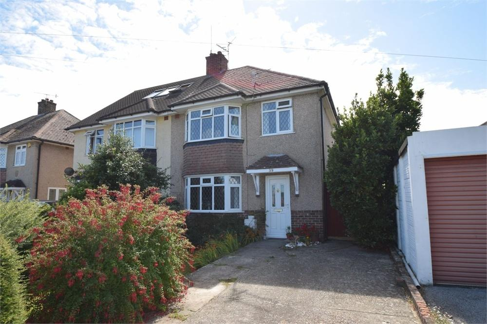 3 Bedrooms Semi Detached House for sale in Coppice Avenue, Willingdon, East Sussex