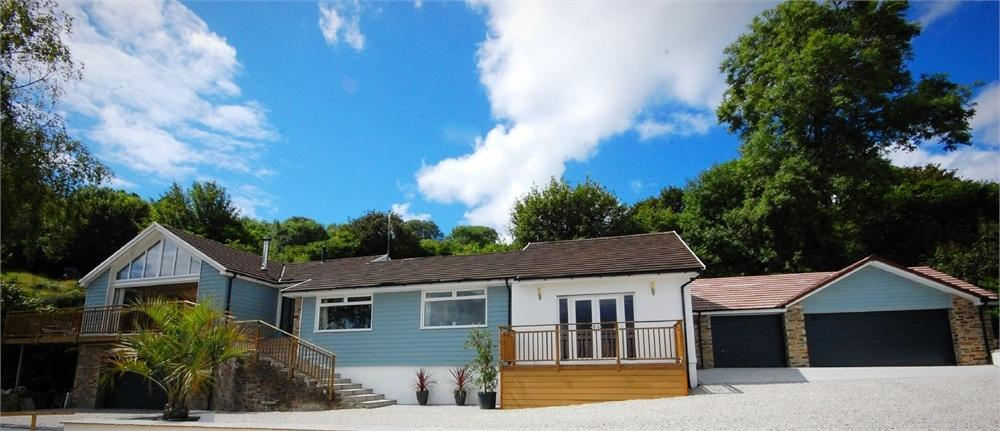 4 Bedrooms Detached House for sale in The Whispers, Downs Hill, Golant, FOWEY, Cornwall