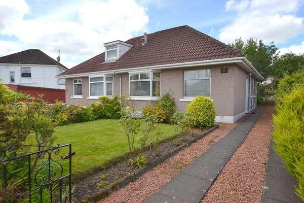 2 Bedrooms Semi Detached Bungalow for sale in 2 Whirlow Gardens, Baillieston, Glasgow, G69 6LE