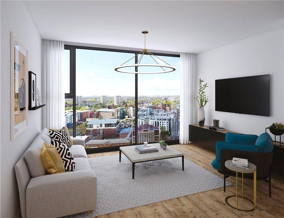 1 Bedroom Flat for sale in The Bank, Sheepcote Street, Birmingham, B15