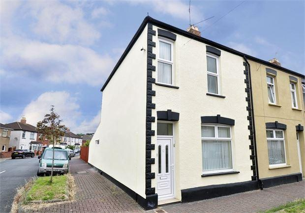 3 Bedrooms End Of Terrace House for sale in Dewstow Street, Lliswerry, Newport, Gwent. NP19 0FT