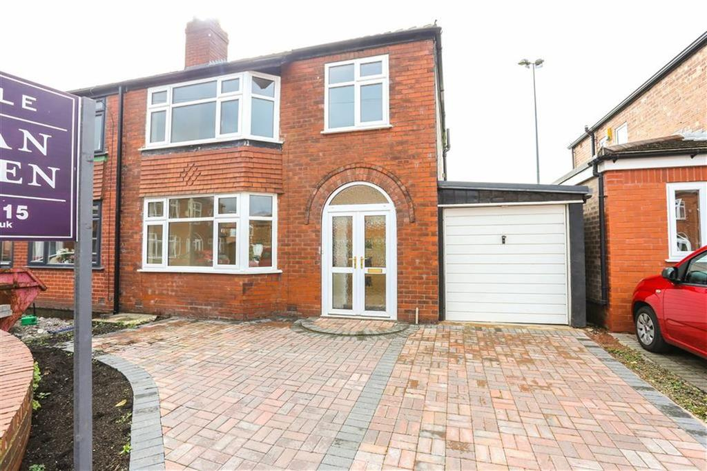 3 Bedrooms Semi Detached House for sale in Whitley Road, Heaton Moor