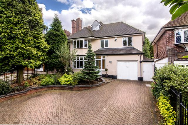 5 Bedrooms Detached House for sale in Monmouth Drive,Sutton Coldfield,West Midlands