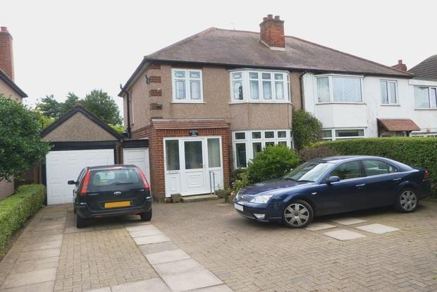 3 Bedrooms Semi Detached House for sale in Melton Road, Queniborough, Leicester, LE7