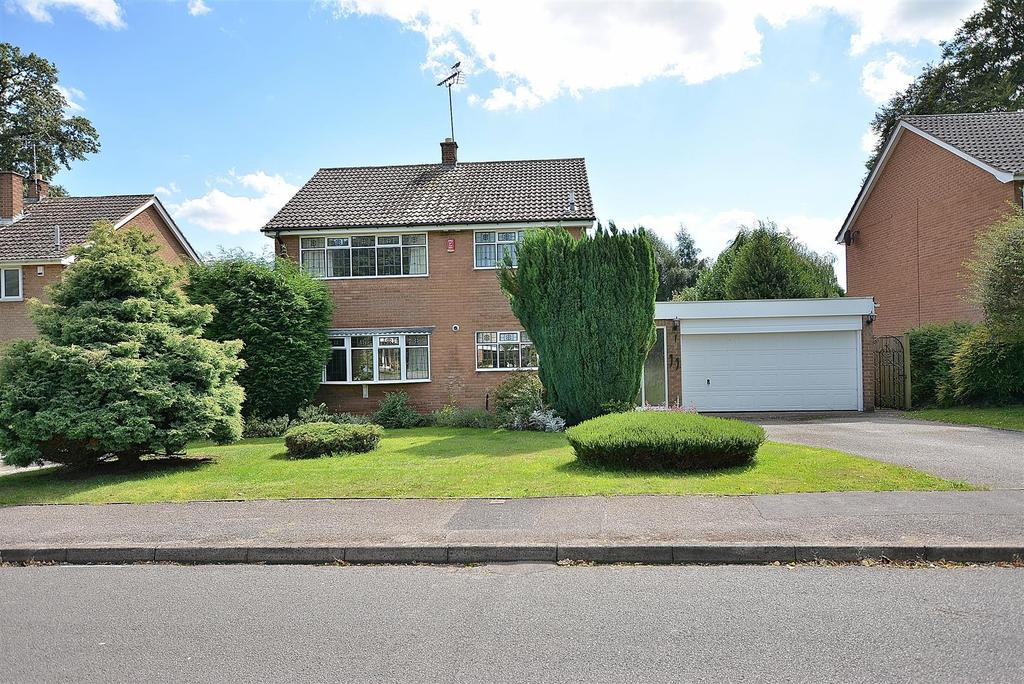 4 Bedrooms Detached House for sale in Paddock Close, Edwinstowe