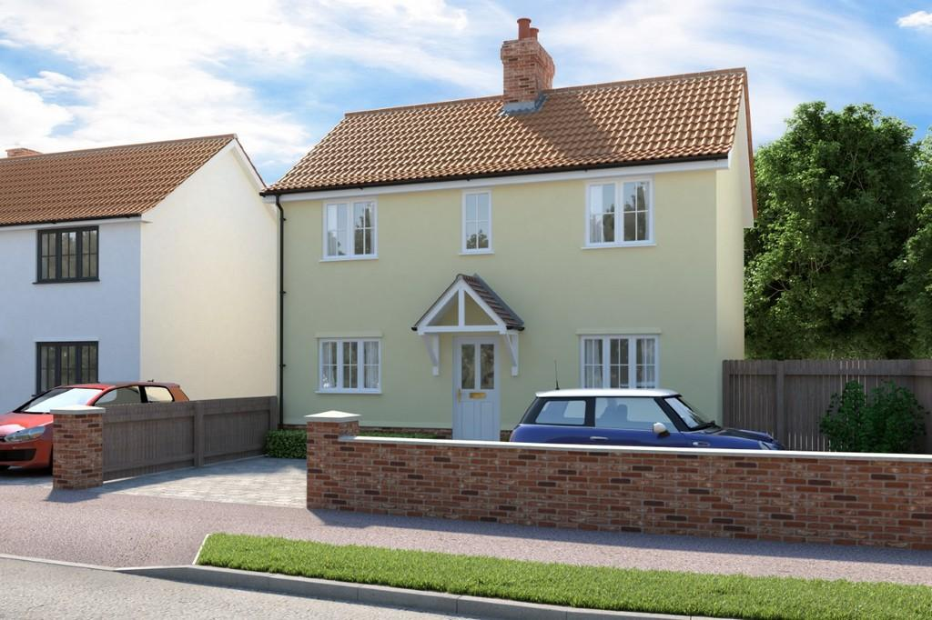 3 Bedrooms Detached House for sale in Bradfield Avenue, Hadleigh