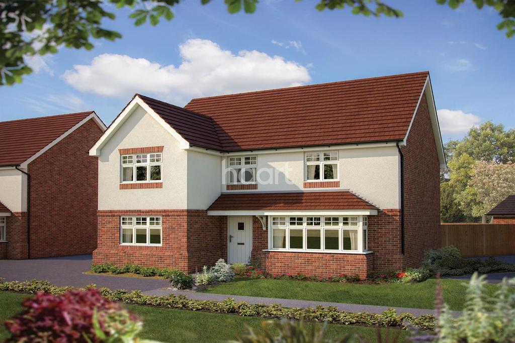 5 Bedrooms Detached House for sale in The Chester, Emmbrook Place