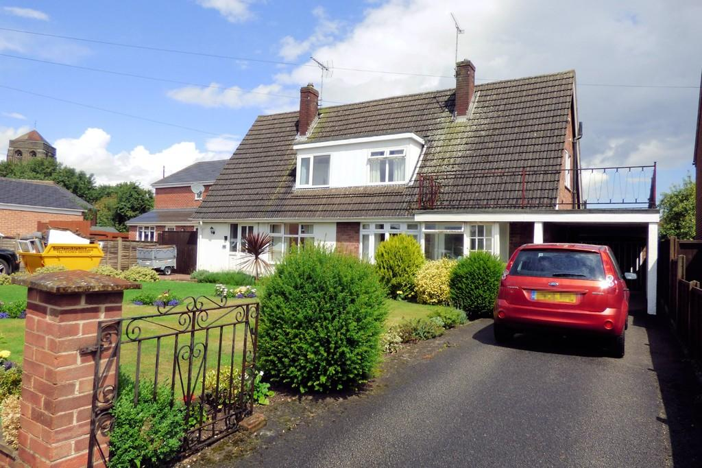3 Bedrooms Semi Detached House for sale in Hillfield Lane, Stretton