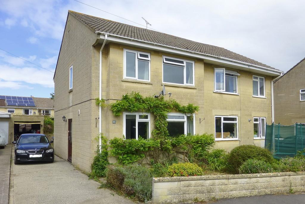 3 Bedrooms Semi Detached House for sale in Downs View, Bradford on Avon, Wiltshire