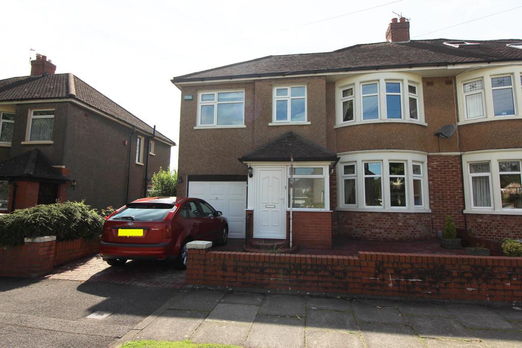 4 Bedrooms Semi Detached House for sale in St Anthony Rd, Heath, Cardiff