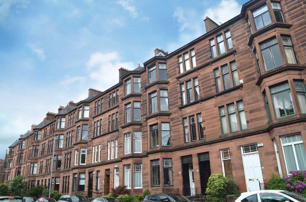 1 Bedroom Flat for sale in Hyndland Road, Flat 1/2, Hyndland, Glasgow, G12 9JD