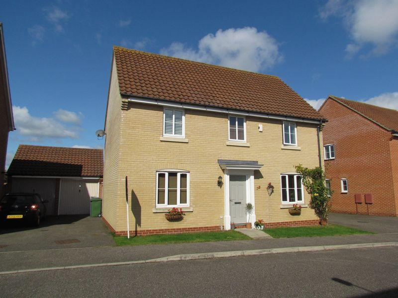 4 Bedrooms Detached House for sale in Beckside, Horsford, Norwich