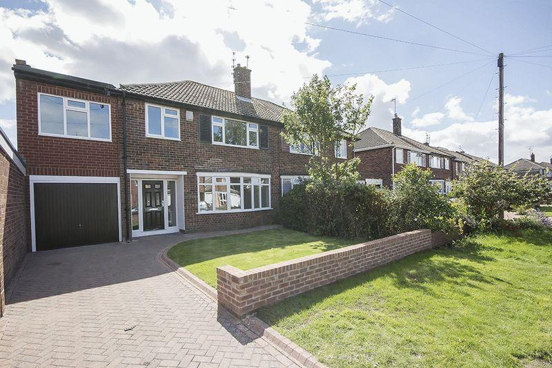 4 Bedrooms Semi Detached House for sale in Regent Farm Road, Newcastle upon Tyne
