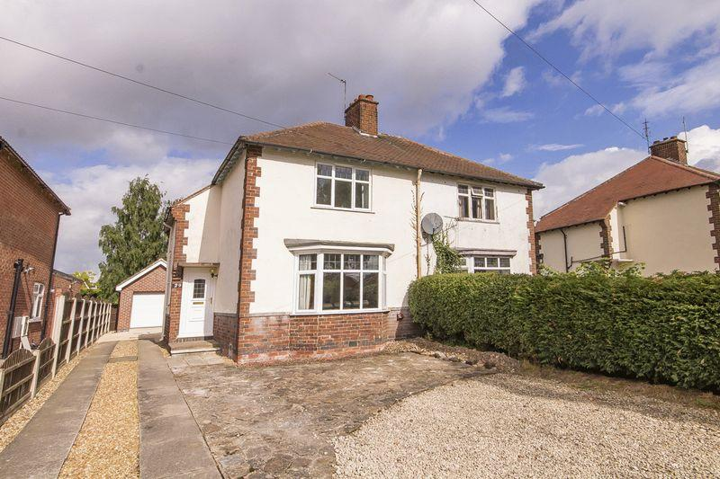 2 Bedrooms Semi Detached House for sale in RYKNELD ROAD, LITTLEOVER.