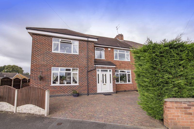 4 Bedrooms Semi Detached House for sale in STENSON ROAD, DERBY