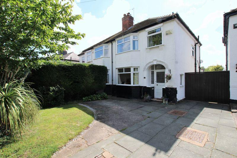 3 Bedrooms Semi Detached House for sale in Sparks Lane, Wirral