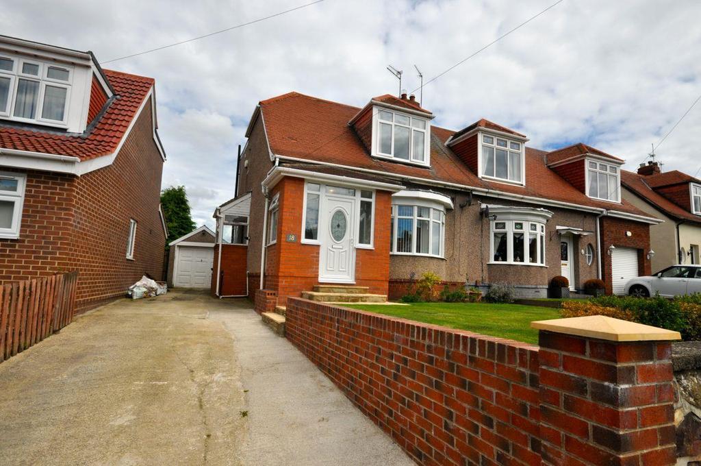 2 Bedrooms Semi Detached House for sale in Sandringham Crescent, East Herrington, Sunderland