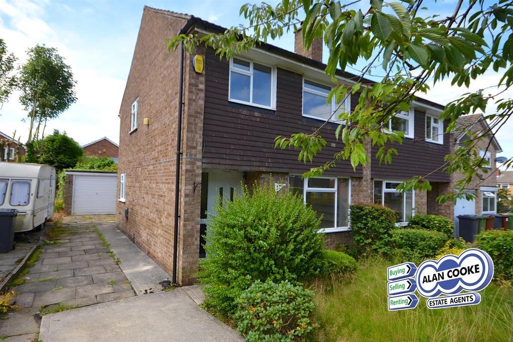 3 Bedrooms Semi Detached House for sale in Birkdale Drive, Alwoodley, Leeds
