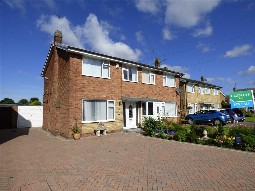 3 Bedrooms Semi Detached House for sale in Freeman Ave, Brough
