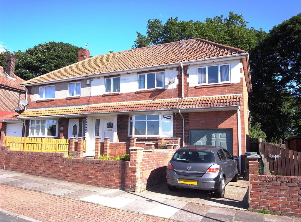 4 Bedrooms Semi Detached House for sale in Burnie Gardens, Shildon