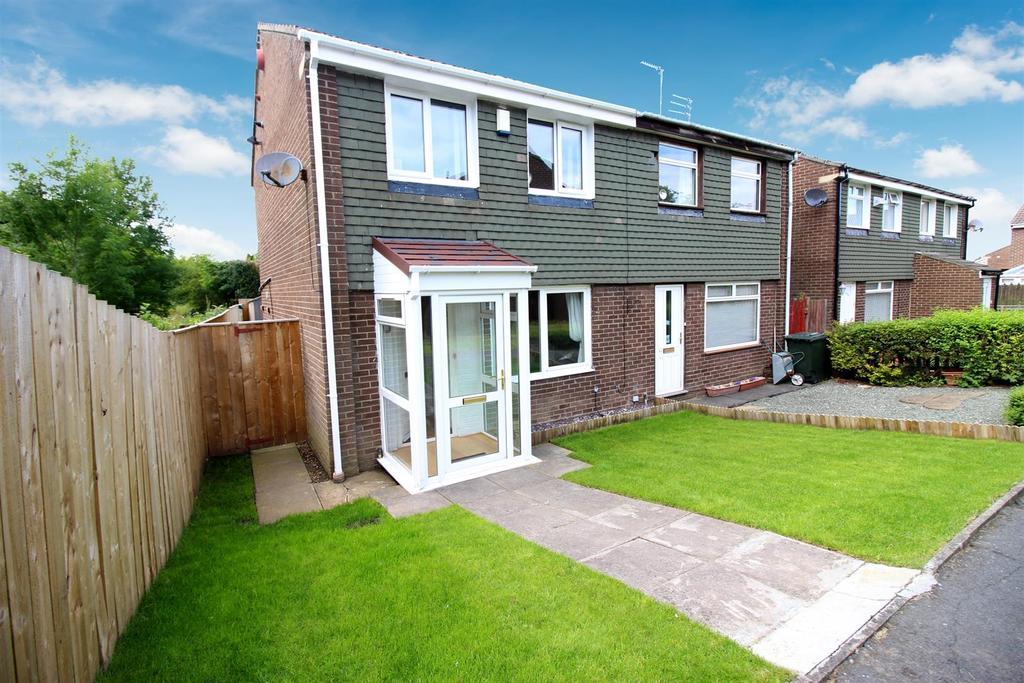 3 Bedrooms Semi Detached House for sale in Thornbury Close, Tudor Grange, Newcastle upon Tyne