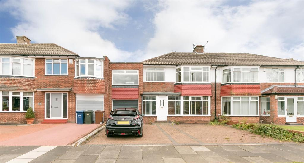 4 Bedrooms Semi Detached House for rent in Montagu Avenue, Gosforth, Newcastle Upon Tyne