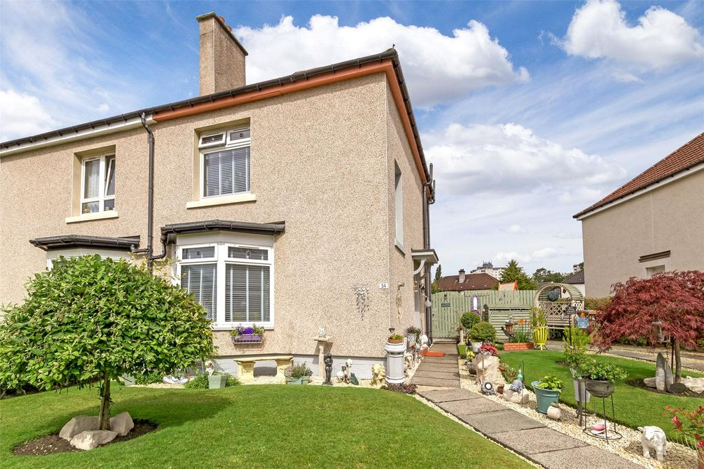 2 Bedrooms Semi Detached House for sale in 54 Archerhill Crescent, Knightswood, Glasgow, G13