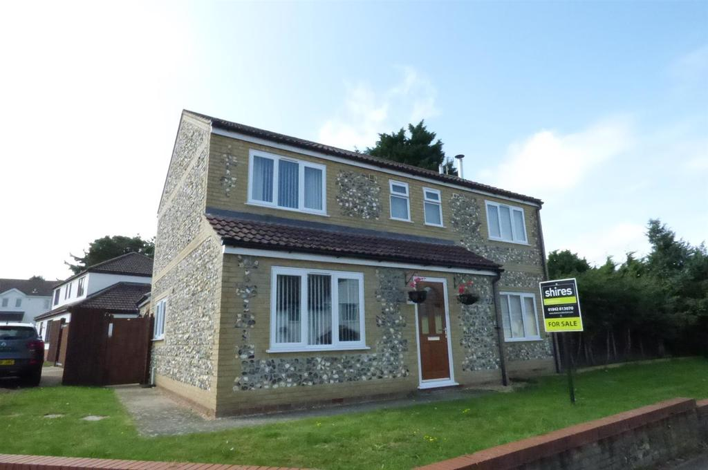 4 Bedrooms Detached House for sale in Robert Linge Crescent. Brandon