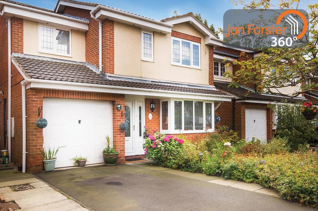 3 Bedrooms Detached House for sale in Yeavering Close, Newcastle Upon Tyne