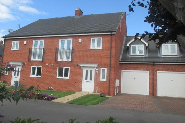 4 Bedrooms Semi Detached House for sale in Dalton Drive, Belper, DE56