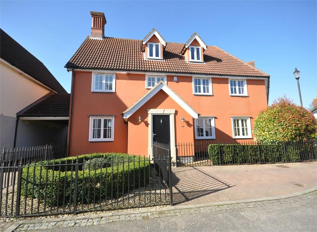 5 Bedrooms Detached House for sale in Armourers Close, St Michael's Mead, Bishops Stortford, CM23