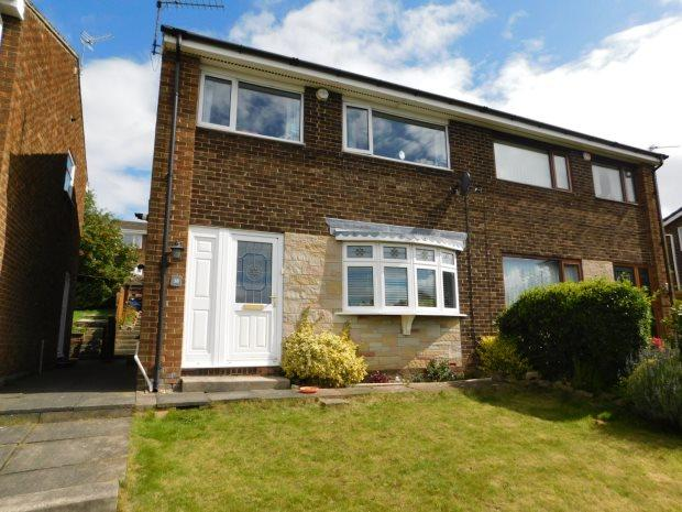 3 Bedrooms Semi Detached House for sale in THORNLEY CLOSE, BROOM PARK, DURHAM CITY : VILLAGES WEST OF