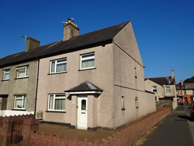 3 Bedrooms End Of Terrace House for sale in SEIRIOL ROAD, BANGOR LL57