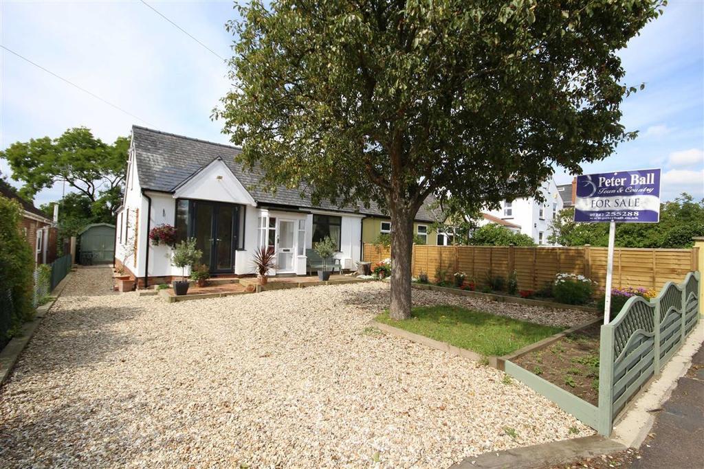 3 Bedrooms Semi Detached Bungalow for sale in Warden Hill Road, Hatherley, Cheltenham, GL51