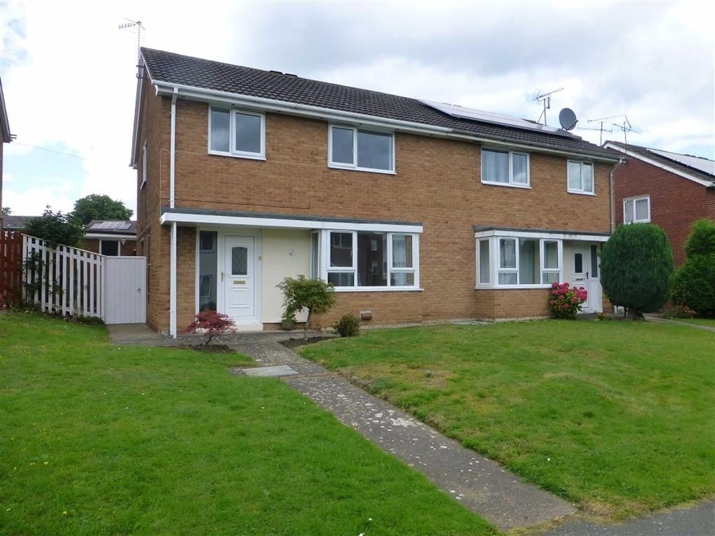 3 Bedrooms Semi Detached House for sale in Acton Park Way, Wrexham
