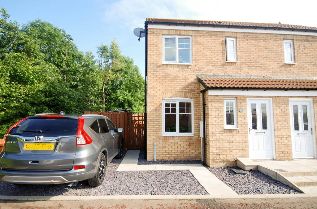 2 Bedrooms Semi Detached House for sale in Hattam Close, Birtley