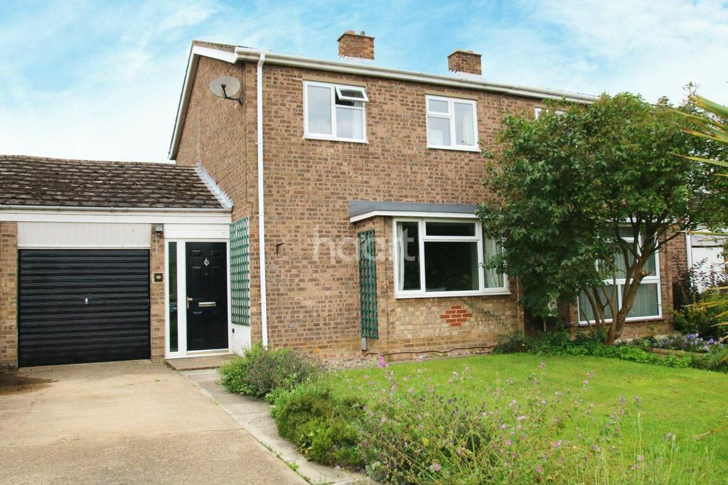 3 Bedrooms Semi Detached House for sale in Unwins Lane, Over
