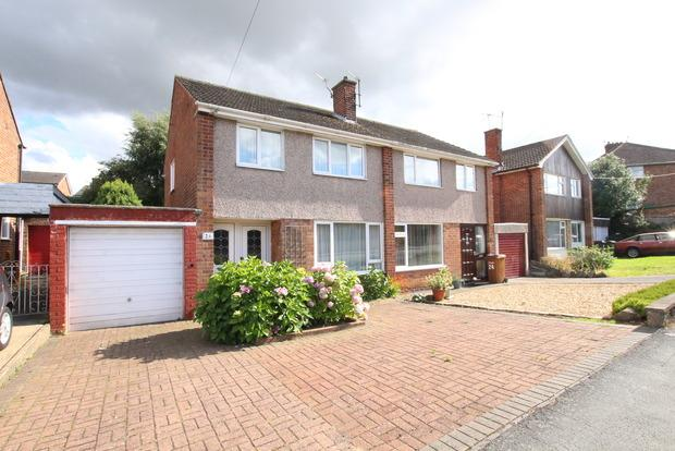 3 Bedrooms Semi Detached House for sale in Wicklow Avenue, Melton Mowbray, LE13